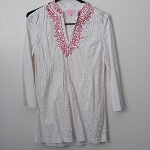 Lilly Pulitzer tunic/cover up XS